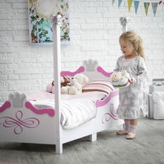 impressive kidkraft dollhouse toddler bed offers functional