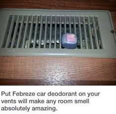 Room Hacks and College Tips Dorm Room Hacks and Tips - Use Febreze Car Clips and add to Air Vents to Help Freshen the Room. More College Tips on Frugal Coupon Living.Hacks Hacks may refer to: College Hacks, College Dorm Rooms, Dorm Hacks, College Life, College House, Dorm Tips, College Ready, College Dorm Crafts, Dorm Room Crafts