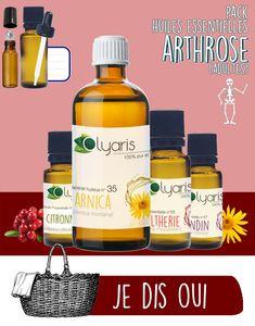 Arthrose et Huiles Essentielles par Olyaris Vitis Vinifera, Drink Bottles, Drinks, Health, Essential Oils, Beauty, Essential Oils Arthritis, Knee Exercises, Health Remedies