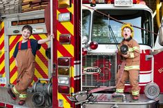Jenn Link Photography - Portraits #kids #portrait #fireman
