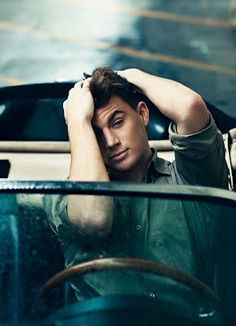 Channing Tatum Outtakes. So freaking adorable!