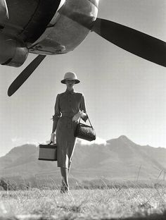 The Art of Travel, 1951 (Norman Parkinson)