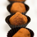 Tartufi di cioccolato… outstanding!!