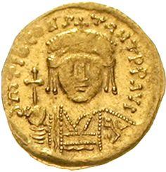 Tiberius II. Constantin 578-582. Solidus 578/582 Constantinopel,
