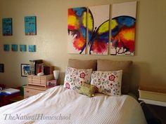 The Natural Homeschool: Homeschool Room Tour 2014