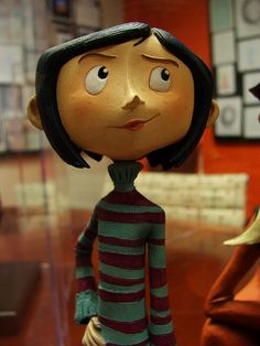 #Coraline #maquette made by Damon Bard; photo by Jazbees, via Flickr