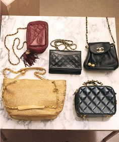 Chanel vintage bags