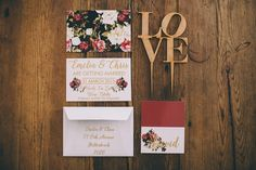 Marsala wedding invitations   Carike Ridout Photography   see more on:  http://burnettsboards.com/2015/06/vintage-marsala-wedding/