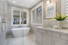 Hamptons Beachfront Holiday Home Gold Coast offers an unparalleled level of comfort style and holiday luxury. Laundry In Bathroom, Bathroom Renos, Bathroom Interior, Bathroom Ideas, Bathroom Plans, Remodel Bathroom, Downstairs Bathroom, Bathroom Inspo, Bathroom Designs
