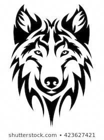 Vector Wolf's head as a design element on .Vector Wolf's head as a design element on isolated background – # - Wolf Tattoo Design, Phoenix Tattoo Design, Skull Tattoo Design, Dragon Tattoo Designs, Tribal Tattoo Designs, Wolf Design, Wolf Tattoos, Tribal Wolf Tattoo, Tribal Sleeve Tattoos