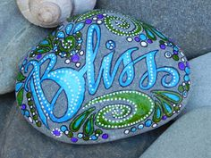 Bliss...Follow Your's /Painted Rock/ Sandi Pike by LoveFromCapeCod
