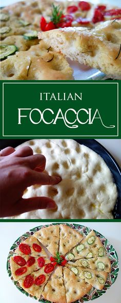 Focaccia - a simple recipe (that is easily addictive) for the tasty italian bread! Also vegetarian & beautifully versatile ❤️😋| cucina-con-amore.com