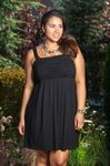 Oh so feminine is this Always For Me Cover Shirred Top cover up dress. You can go from a day at the beach to a night out on the town in this ultra feminine plus size cover up dress. This beautiful Alwa