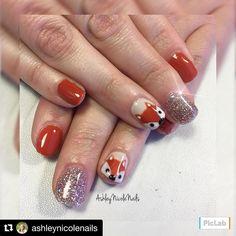 "34 Likes, 1 Comments - ThePinkDoorBoutiques&NailSalon (@the.pinkdoor) on Instagram: ""#Repost @ashleynicolenails ・・・ 🦊💛 #pinkdoorbrighton #brightonnails #allday #akzentz #nails…"""