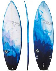 PANDA THE SLOB CRAFT COLAB SMALL WAVE BY ANDREW DOHENY SURFBOARD - RESIN TINT