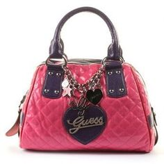 guess bags pink - Google Search