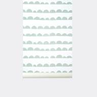 DIY this on the blind -  Half Moon Wallpaper
