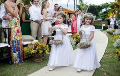 Ilhabela Flower girls maid of honour