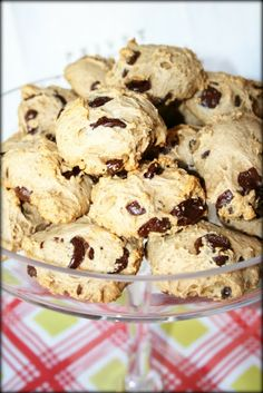 CRAVE fitness: 100% HEALTHY Dark Chocolate Chip Muffintop Cookies