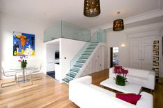 London - create space from high ceilings