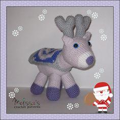 Ravelry: Reyna the Christmas Reindeer pattern by Melissa's Crochet Patterns, free pattern