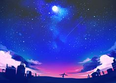the night sky - Google Search