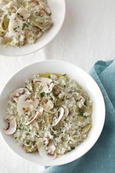 Artichoke Risotto -slow cooked