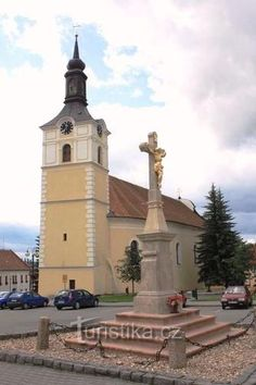 Olešnice • Mapy.cz Czech Republic, Notre Dame, Castles, Building, Travel, Viajes, Chateaus, Buildings, Destinations