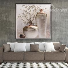 Vase Printed Hanging Canvas Waterproof and Eco-friendly Framed Print. - Vase Printed Hanging Canvas Waterproof and Eco-friendly Framed Prints - Cheap Wall Art, Outdoor Wall Art, Hanging Canvas, Fashion Wall Art, Mural Art, Ceramic Painting, Texture Painting, Modern Wall Art, Framed Art Prints