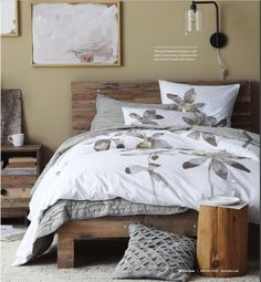 West Elm has a good selection of rustic furniture and accessories.