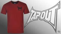 Tričko TAPOUT Underdogs dark red