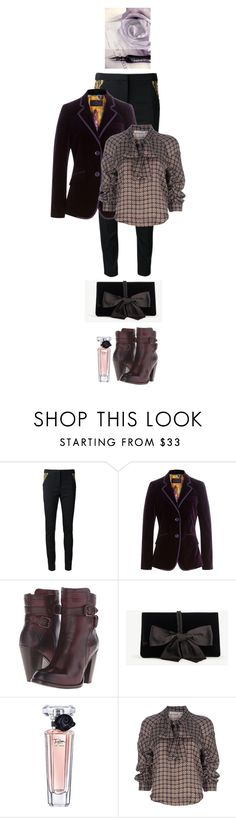 """Victorian inspired"" by nicolesynth ❤ liked on Polyvore featuring sass & bide, Etro, Frye, Ann Taylor, Lancôme and See by Chloé"
