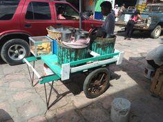 Ice cream stand, Dolores Hidalgo, Guanajuato