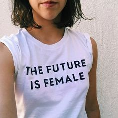 The Future is Female T-shirt / AVAILABLE NOW! – Otherwild