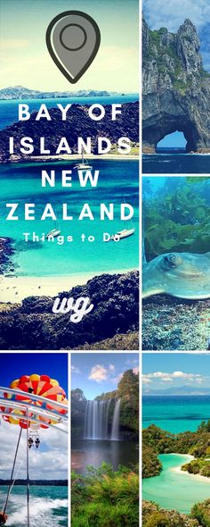 New Zealand Travel- Guide to Bay of Islands, New Zealand, things to do, boat trips, diving, walks, hiking, day trips