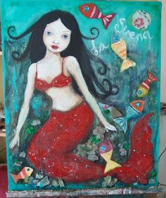Art byGrace Garton - done in my mermaid class. - Suzi Blu