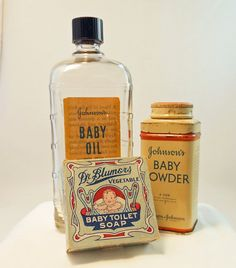 Vintage Nursery Johnson's Baby Powder