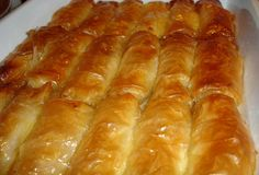 Milk thistle - The traditional recipe Foodmaniacs - Sweets - Greek Recipes - Greek Recipes - Greek Sweets, Greek Desserts, Greek Recipes, Galaktoboureko Recipe, Delicious Desserts, Dessert Recipes, Puff Pastry Desserts, Bread Dough Recipe, Best Sweets