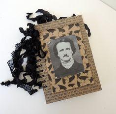 Halloween Album Edgar Allan Poe Gift Edgar by InsideTheBeehive