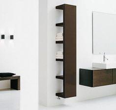 IKEA Bathroom Hacks - DIY Home Improvement Projects For Restroom Renovation - Thrillist Ikea Lack Wall Shelf, Lack Shelf, Wall Shelf Unit, Wall Shelves, Ikea Shelves, Ikea Shelf Hack, Kallax Shelf, Shelving Units, Ikea Mirror Hack