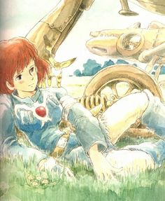 Nausicaä of The Valley of the Wind | Hayao Miyazaki | Studio Ghibli 風の谷のナウシカ