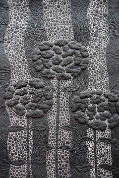 Night Garden by Elena Folomyeva. 2014 Festival of Quilts V – Russian Gallery | photo by Kameleon Quilt