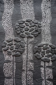 Night Garden by Elena Folomyeva.  2014 Festival of Quilts V – Russian Gallery…