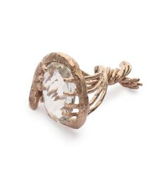 Iris Bodemer – Ring 2010  Copper, rock crystal