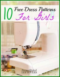 10 Free Dress Patterns for Girls