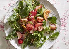 Fresh and Roasted Radish Salad with Sunny Lemon-Ginger Dressing   Vegetarian Times