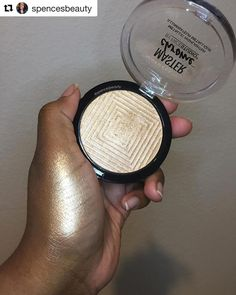 What Highlighter do you wear? Maybelline Master Chrome Metallic Highlighter in stock! Available in Molten Gold Molten Topaz Best Drug Store Highlighter, Drugstore Highlighter, Maybelline Makeup, Drugstore Makeup, Bridal Makeup Looks, Love Makeup, Beauty Makeup, Makeup Stuff, Flawless Makeup