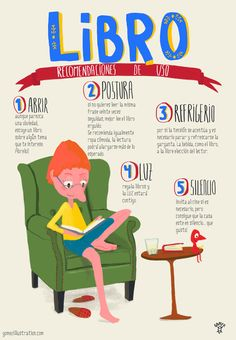 Recomendaciones de uso de los libros