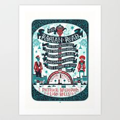 On Raglan Road Art Print by Steve Simpson - X-Small Graphic Design Illustration, Illustration Art, Canvas Prints, Art Prints, Hand Lettering, Screen Printing, Just For You, Design Inspiration, Tumblr