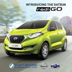 Introducing the #DatsunRediGo Read more: https://goo.gl/EtgUAa  #DatsunCars #Datsun #FamilyCars #BookRediGo #RediGo